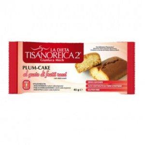 Plum cake al gusto di frutti rossi Tisanoreica