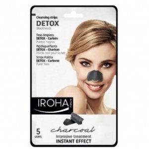 Strip Pulizia Detox al Carbone per i punti neri Iroha