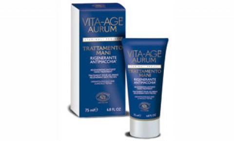 Vita Age AURUM – Crema Mani Antimacchia- Rigenerante