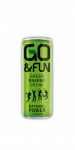 Go&Fun Green Energy Drink naturale