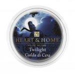 Candela di Soia Profumata - Twilight Cialda Heart & Home