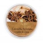 Candela di Soia Profumata - Cannella speziata Cialda Heart & Home